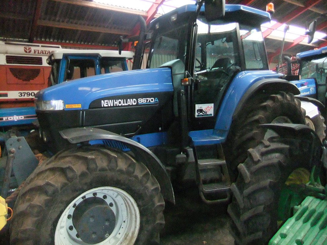 New Holland oa.8670 genesis cab art.nr.725 - Naaldvilt