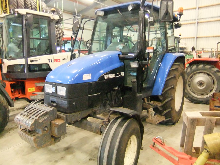 New Holland TL 70 - art.nr. 688 - Naaldvilt