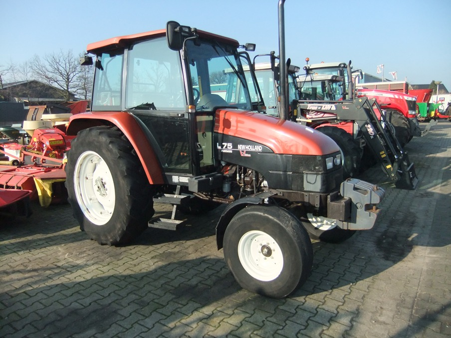 New Holland/Fiatagri L75 art.nr.149 Naaldvilt