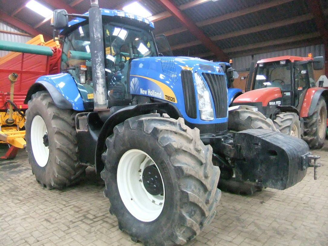 New Holland T8000 serie art.nr.733 Naaldvilt