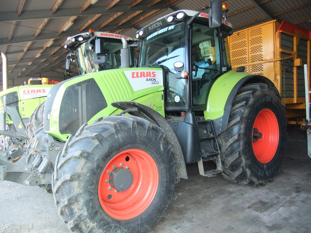 Claas Axion 800 serie 2013-2014 art.nr.797 - Naaldvilt