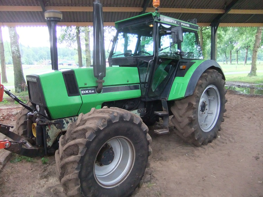 Deutz DX serie met Master-cab - art.nr.904 Super Velours