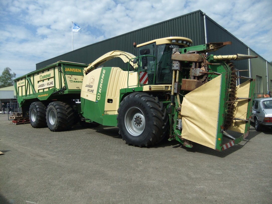 Krone Big X - 650 - bulk art.nr.823 - Super Velours