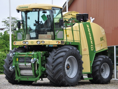 Krone Big X 700 - 850 -1100 art.nr.339 - Super Velours