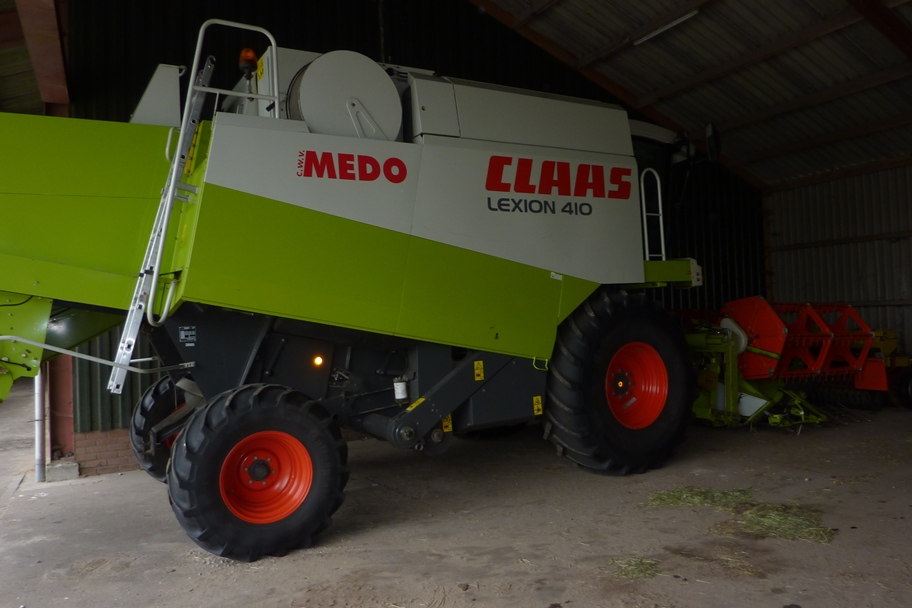Claas Lexion Combine art.nr.220 - Super Velours